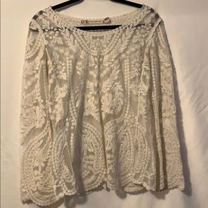 Chelsea & Violet lace long sleeve